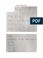 Evaluación matemática 4