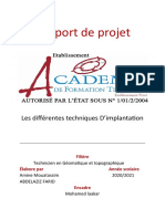 Mini Projet Rapport
