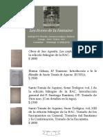 Les livres de la fontaine - Catálogo Nº 2