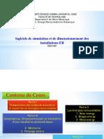 Partie I Présentation des codes de simulation et expertise en énergies renouvelables