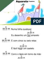 Aquarela (letra e cifra)