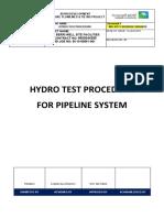 Hydro Test Procedure