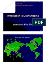 Introduction to Liner Shipping