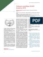Revue Francophone d'Orthoptie Volume 12 issue 1 2019 [doi 10.1016_j.rfo.2019.02.007] -- Colloque scientifique SILMO Academy 2018