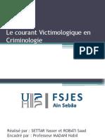 exposé victimologie