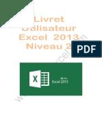 livret excel 2013- 2