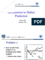 defect prediction