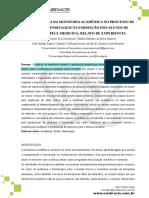 A Importância Da Monitoria Acadêmica No Processo de Ensino-Aprendizagem Na Formação Dos Alunos de Fisioterapia e Medicina