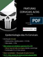 117. Fraturas Cervicais Altas 2018
