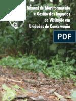 LIVRO Manual Monit Gestao Impactos Visit Ucs - WWF