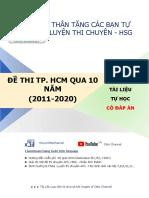 Otto Channel - 10 Đề chuyên HCM - Happy new year 2021