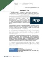Circular Dp Nº 57-15 Decreto Nº 213674 - Personal Afectado a La Perforacion,