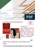 PROJETO DE LEITURA 2 & FIGURAS DE LINGUAGEM (ANÁLISE DE POEMAS)