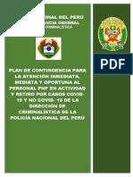Plan de Contingencia Para Atención Inmediata y Oportuna - Covid19