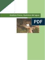 Informe de Analisis Fisico Quimico Del Agua