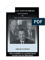The last days in Israel - Abraham Diskin