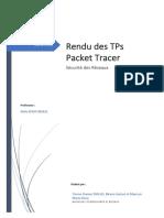 Rapport de TP SécuRéseaux- Groupe de Tierno DIALLO - Birane Et Marie-rose