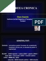CURS 10-Diareea Cronica. Constipatia Cronica