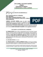 CONTESTACION DEMANDA DE PERTENENCIA 2020-0035