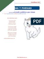Castellano 4to Taller poema-rima