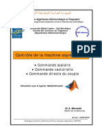 Controle de La Machine Asynchrone