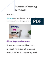 3rd Year2020 Types of Nouns Document(1)