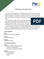 Programa de Estudio & Temas en Psicologia Positiva