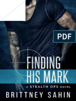 1 Finding His Mark - Stealth Ops - Brittney Sahin