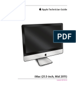 Imac 21.5 2011 Apple Guia Tecnica