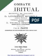 D Lourenço Scupoli_Combate Espiritual_Completo