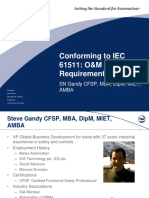 Conforming to IEC 61511 O and M Requirements