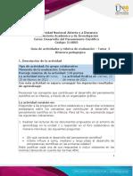 Guía de actividades y rúbrica de evaluación - Tarea 2 - Bitácora Pedagógica