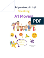 Movers - Speaking guide for parents
