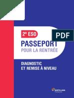 Passeport pour la rentrée 2º ESO parachute