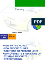 Marketing-Planning a New Product
