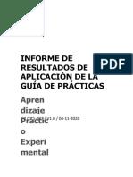 INFORME DE PRÁCTICAS #9