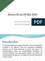 Séance 05 du 04 Mai 2020