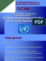 Monica Belalcazar El Rol de Las Empresas en Las Crisis Human It Arias