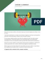 12 Maneiras de Controlar o Colesterol