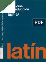 Latín Ejercicios de Traducción (INBAD)