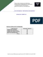 PLAN DE ESTUDIO LENGUA CASTELLANA Y LITERATURA