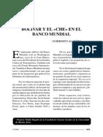 Ayalon-Bolivar y El Che en El Banco Mundial