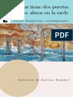 Español, Denisse (2018) - Poesía dominicana contemporánea