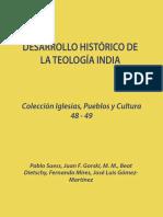Desarrollo historico de la teologia india