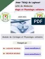 I-Organisat° de la C (2-La C bactérienne) 2020-2021