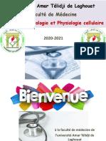 I-Organisat° de la C (1-Les eucaryotes) 2020-2021