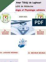 I-Organisat° de la C (3-Les virus) 2020-2021