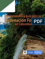 Lineamientos y Guia para la Ordenacion Forestal en Colombia
