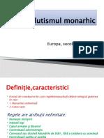 Absolutismul Monarhic