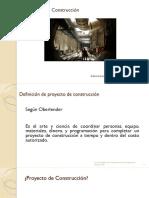 02.01 - PROYECTOS DE CONSTRUCCION